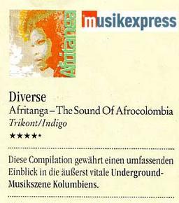 Musikexpress Afritanga